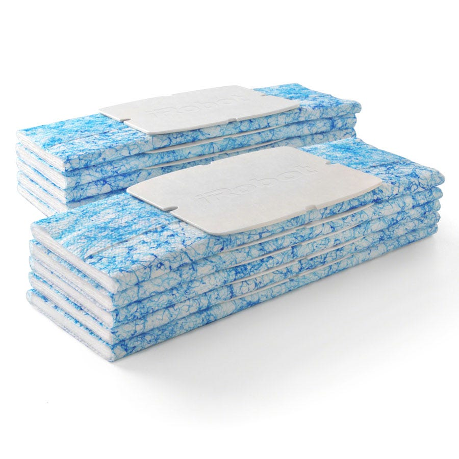 Compare prices for iRobot Braava Jet 240 Wet Mopping Pads - Pack of 10