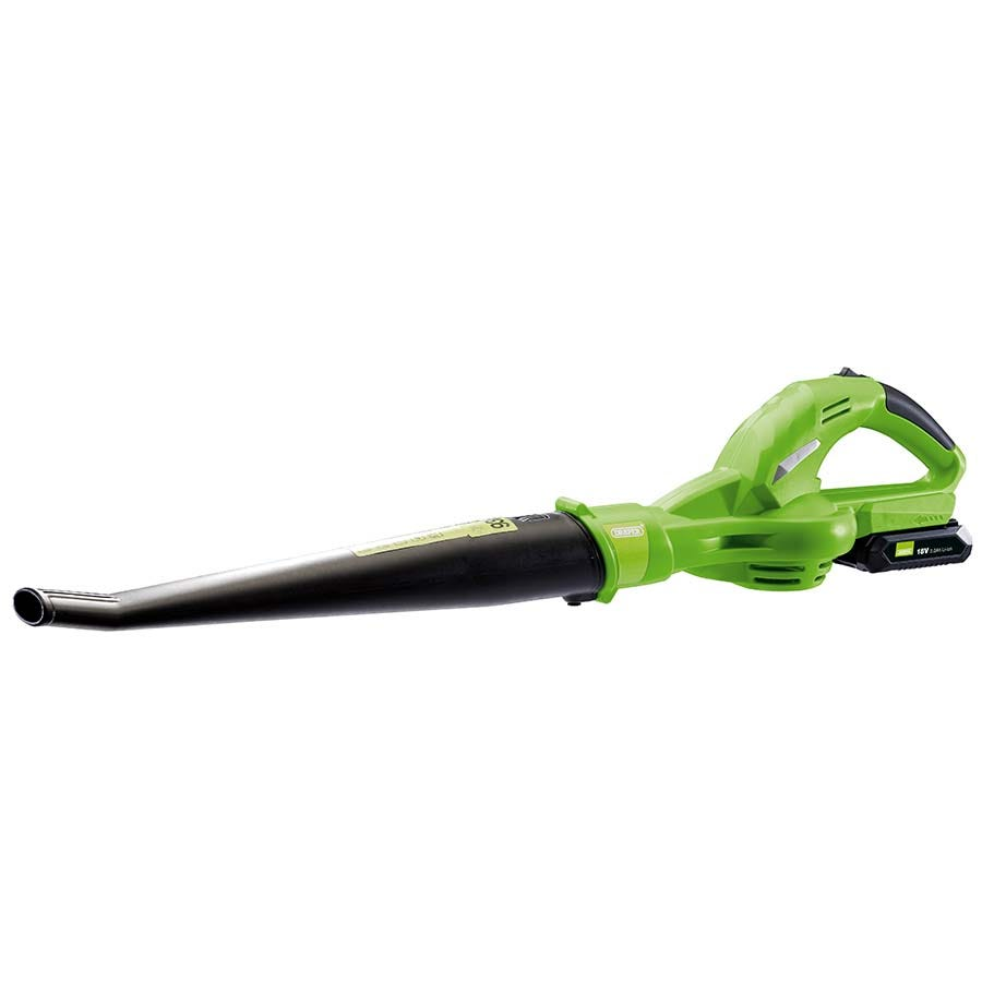 Compare cheap offers & prices of Draper 18V Cordless Leaf Blower with Battery and Charger manufactured by Draper
