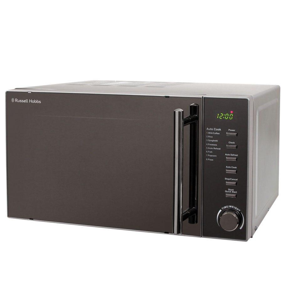 Russell Hobbs RHM2017 800W 20L Digital Microwave - Silver