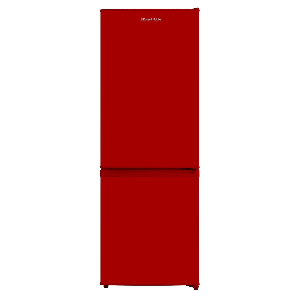 Russell Hobbs RH50FF144R 167L Freestanding Fridge Freezer - Red