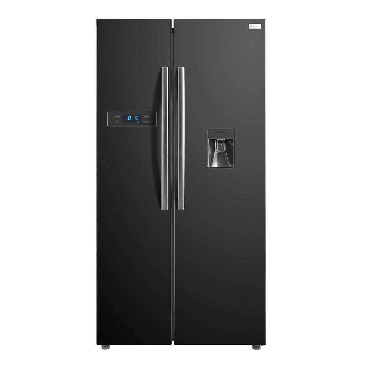 Russell Hobbs RH90FF176B 510L Wide American Style Fridge Freezer - Black