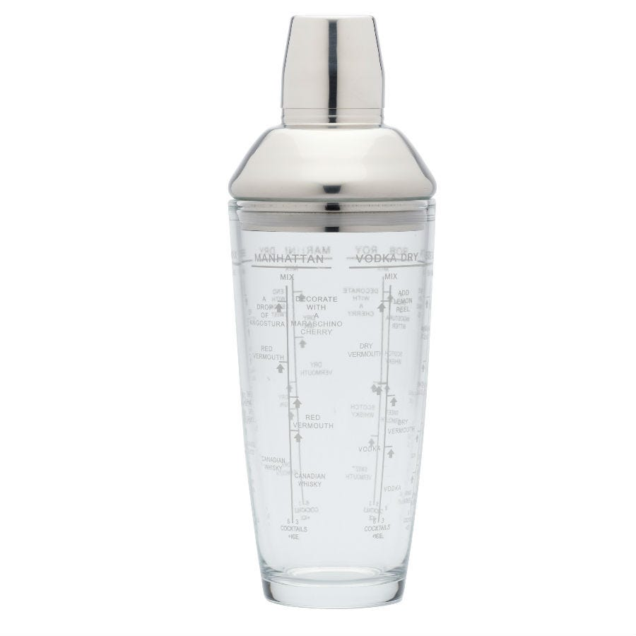 Compare prices for Bar Craft BarCraft 700ml Boston Cocktail Shaker