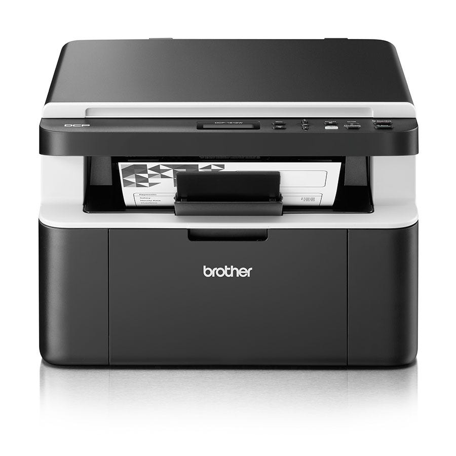 Brother DCP-1612W Compact Wireless All-In-One Mono Laser Printer