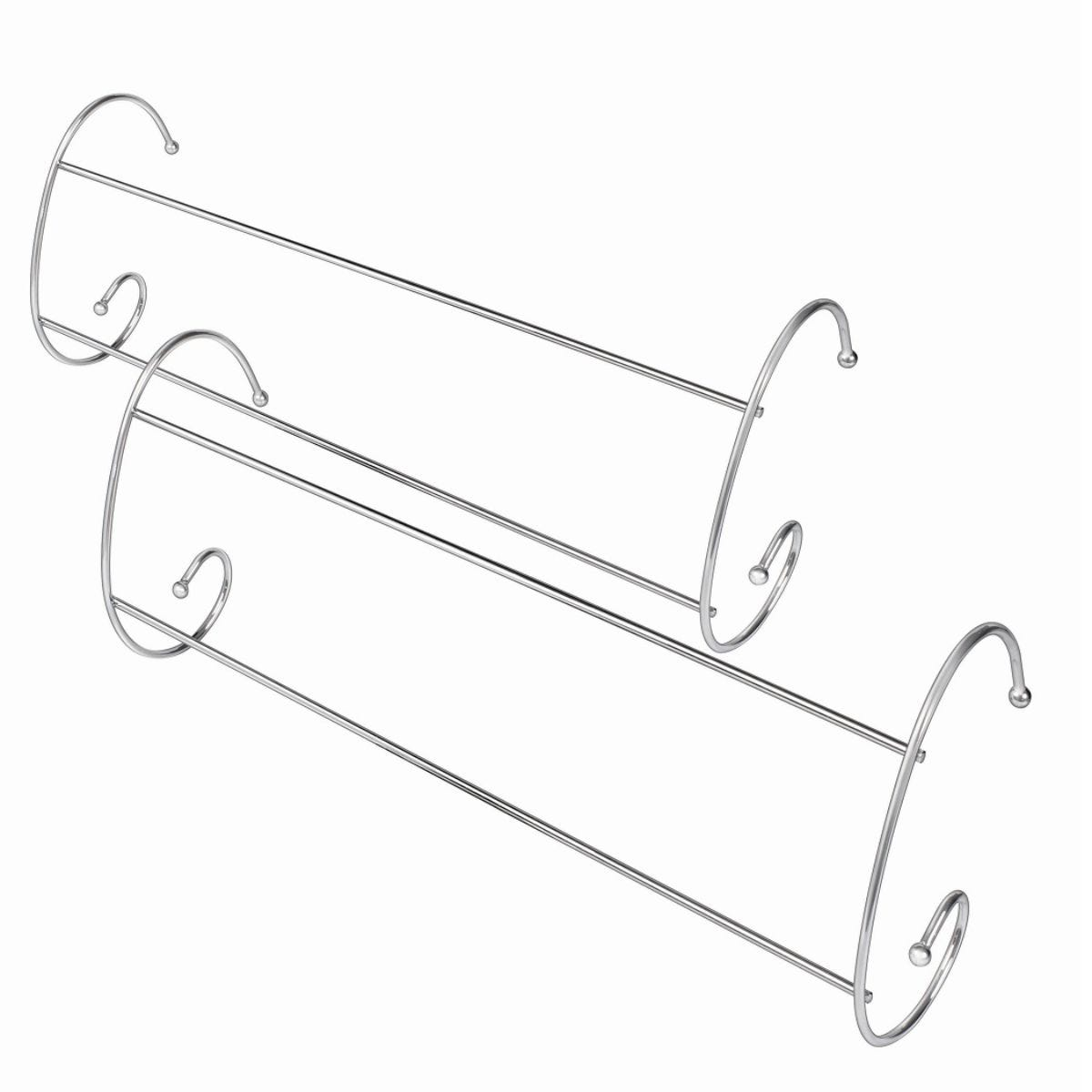 Addis 2-Bar Chrome Radiator Airer - 2 Pack