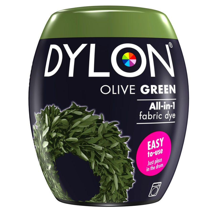 Compare cheap offers & prices of Dylon Machine Dye Pod 34 - Olive Green manufactured by Dylon
