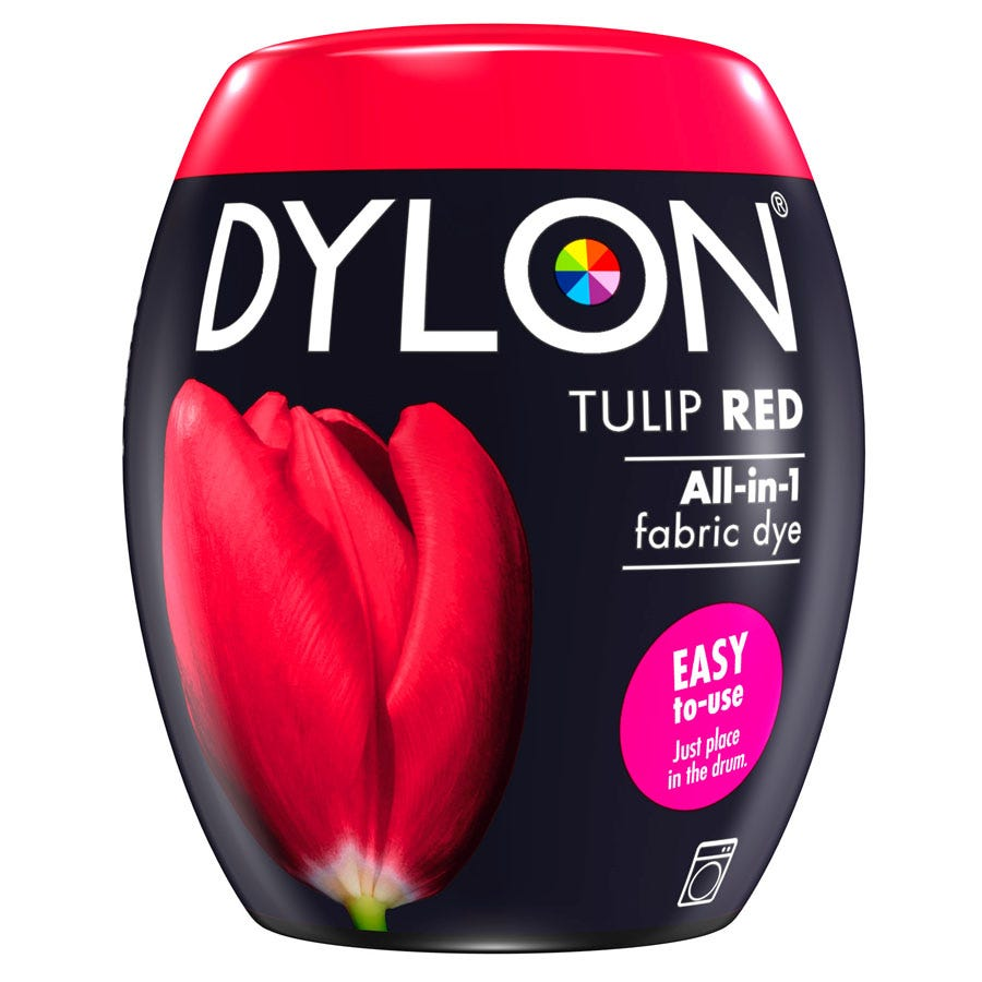 Compare cheap offers & prices of Dylon Machine Dye Pod 36 - Tulip Red manufactured by Dylon