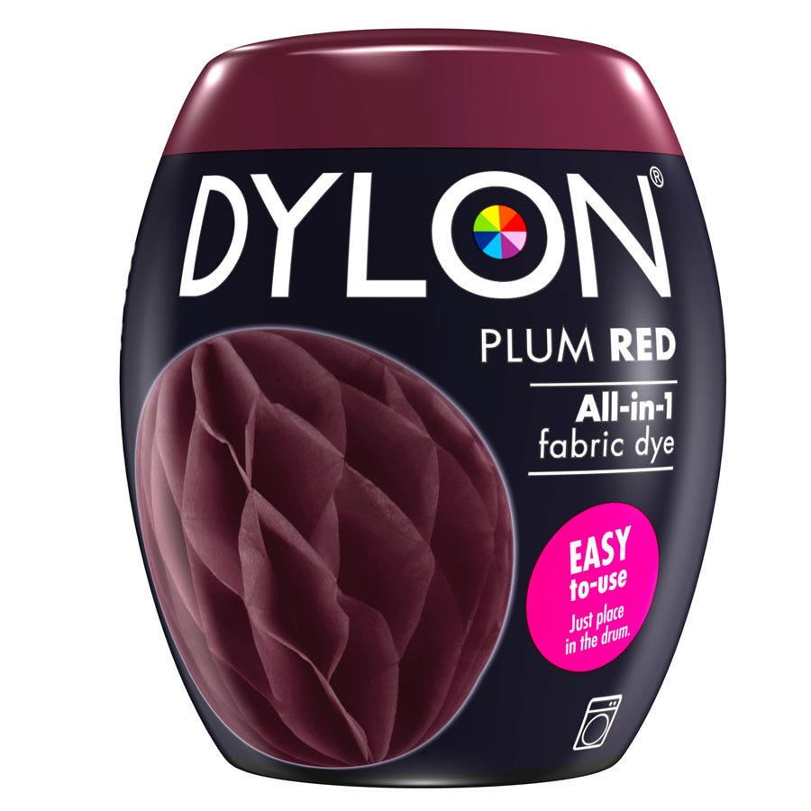 Compare cheap offers & prices of Dylon Machine Dye Pod 51 - Plum Red manufactured by Dylon