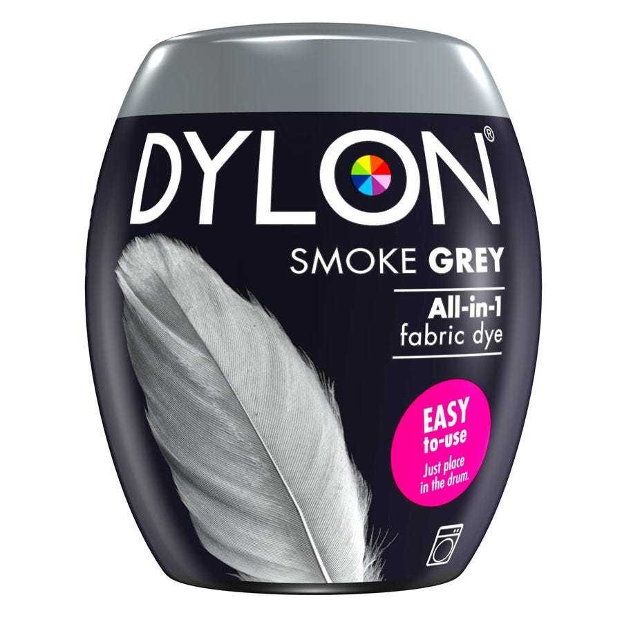Compare cheap offers & prices of Dylon Machine Dye Pod 65 - Smoke Grey manufactured by Dylon