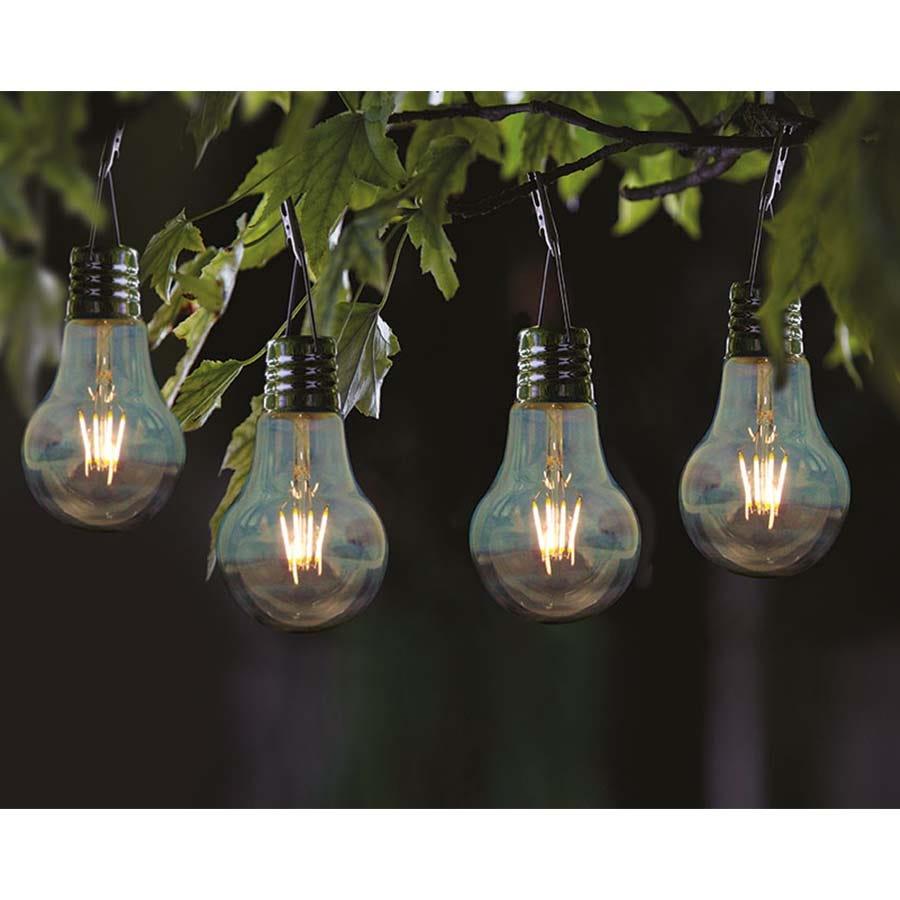 Robert Dyas Eureka Retro Lightbulbs - 4 Pack