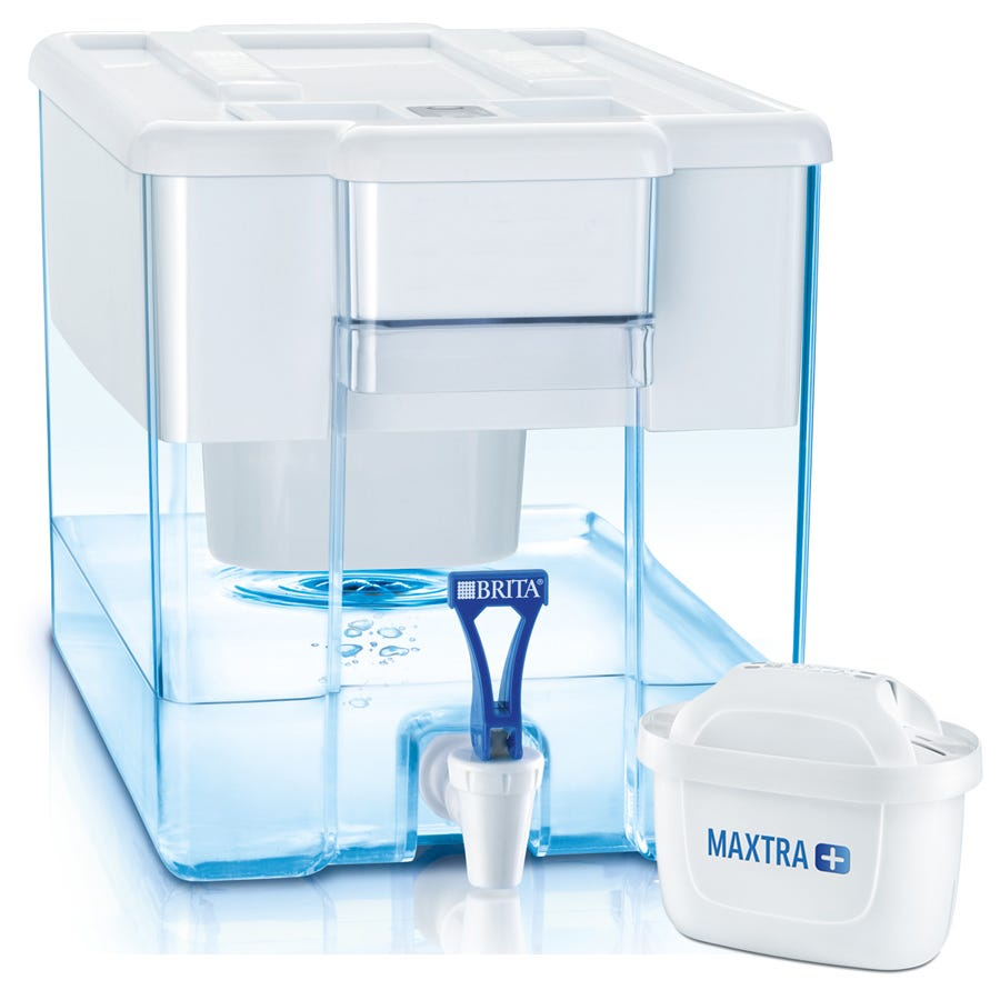 Compare prices for Brita Optimax Cool Water Filter Dispenser with Maxtra+ Cartridge