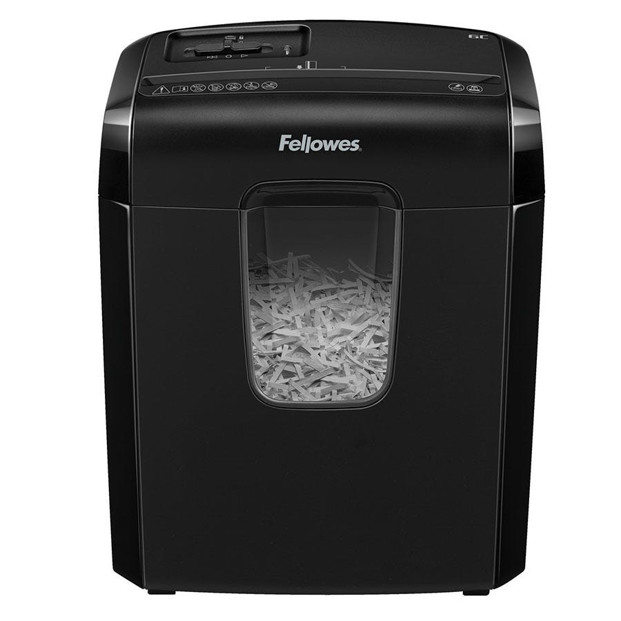 Compare prices for Fellows Fellowes Powershred 6C Cross Cut Shredder
