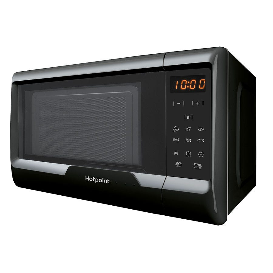 Hotpoint MWH 2031 MB0 Easy Compact Solo Microwave with Touch Control