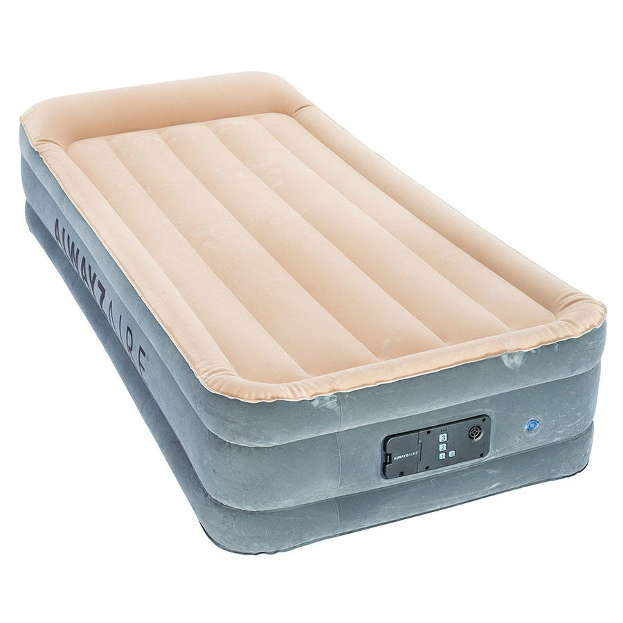 Compare cheap offers & prices of Bestway AlwayzAire SleepEssence Inflatable Air Bed - Twin manufactured by Bestway