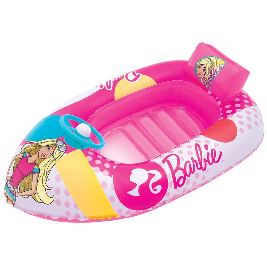 Compare cheap offers & prices of Bestway Barbie Inflatable Fashion Boat manufactured by Bestway