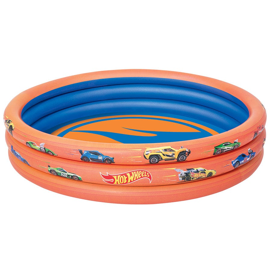 Compare prices for Hot Wheels Inflatable 3-Ring Pool