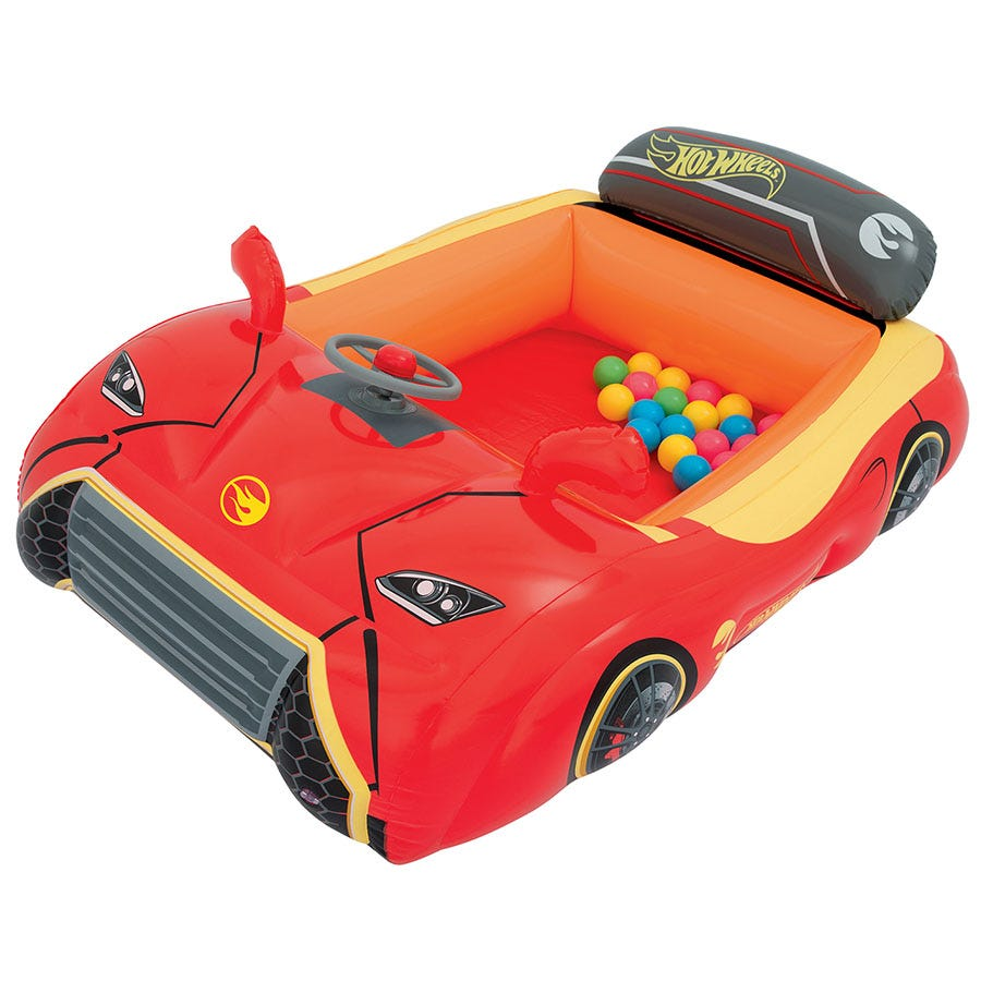 Compare cheap offers & prices of Bestway Hot Wheels Inflatable Car Ball Pit manufactured by Bestway