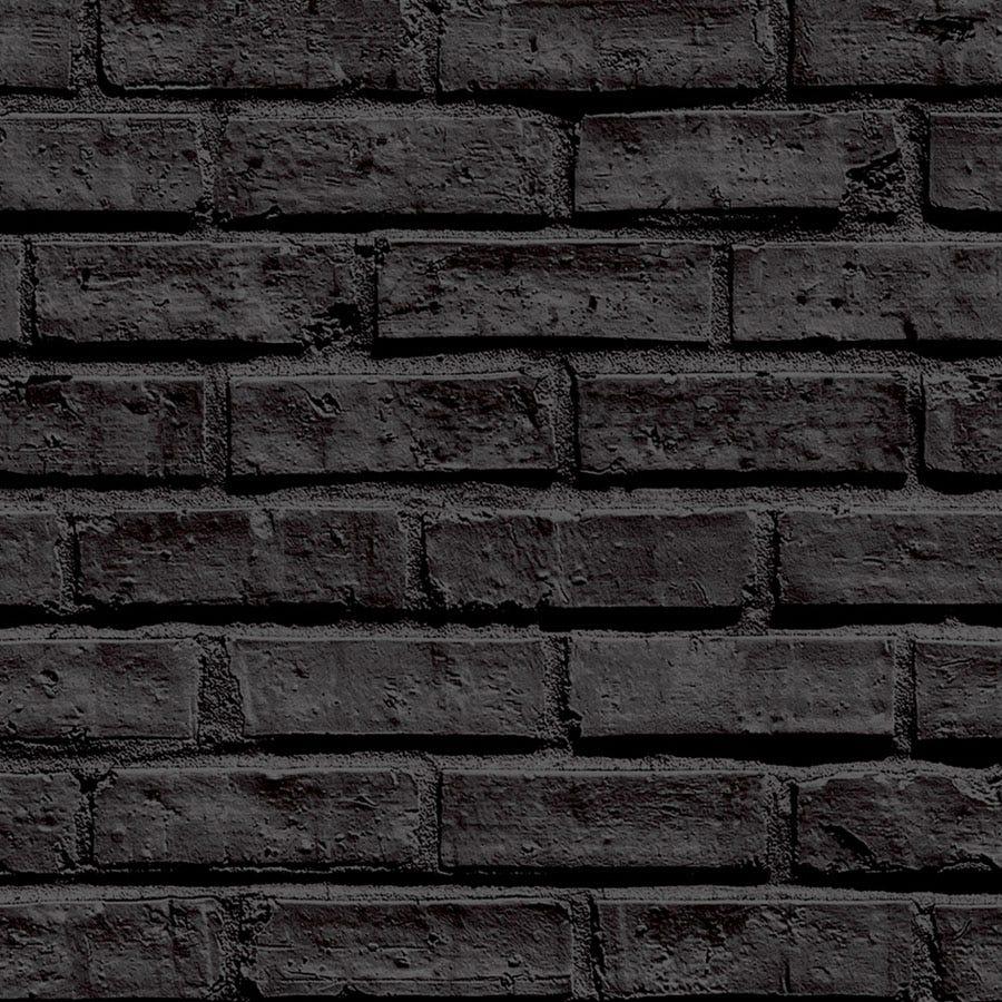 Compare prices for Arthouse Black Brick Wallpaper