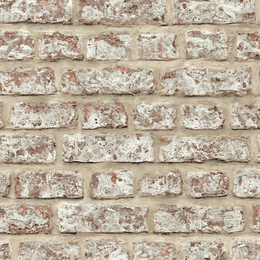 Arthouse Rustic Brick Wallpaper - Neutral