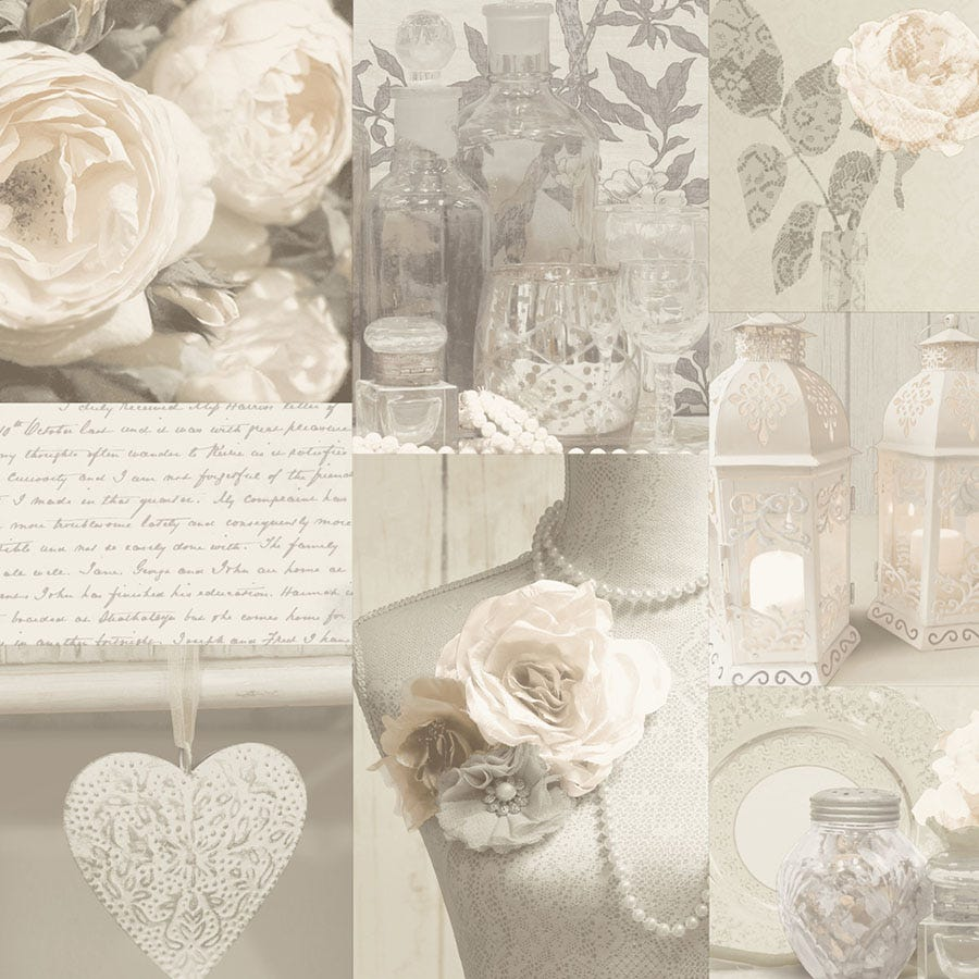 Compare prices for Arthouse Charlotte Wallpaper - Neutral