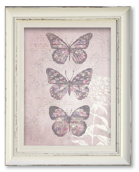 Compare cheap offers & prices of Arthouse Enchanted Butterflies Framed Wall Print manufactured by Arthouse