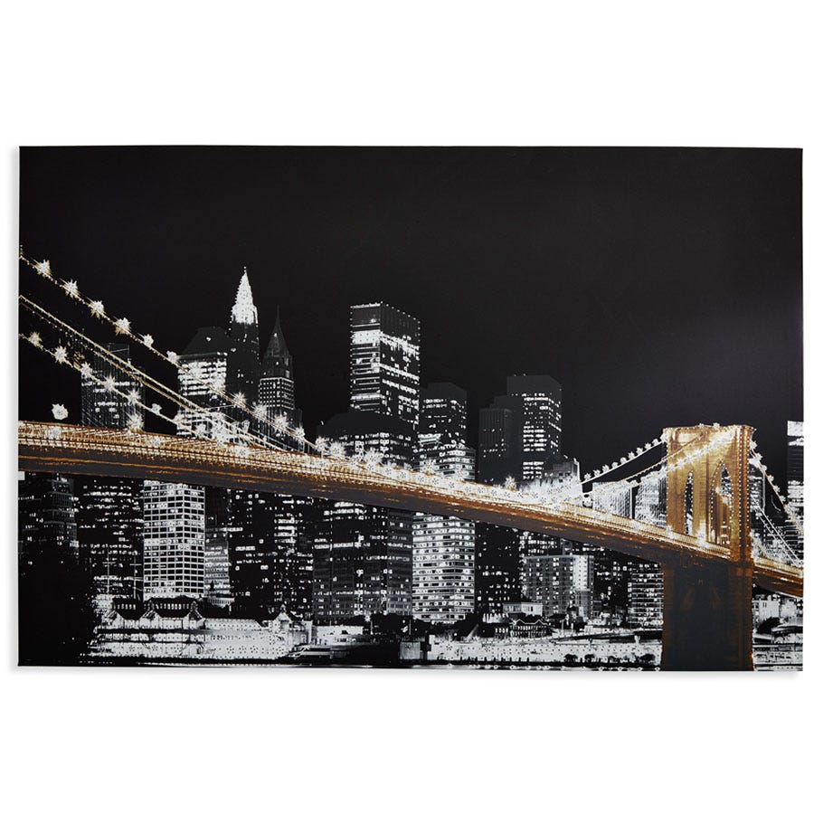 Compare cheap offers & prices of Arthouse Glitz City Diamante Canvas manufactured by Arthouse