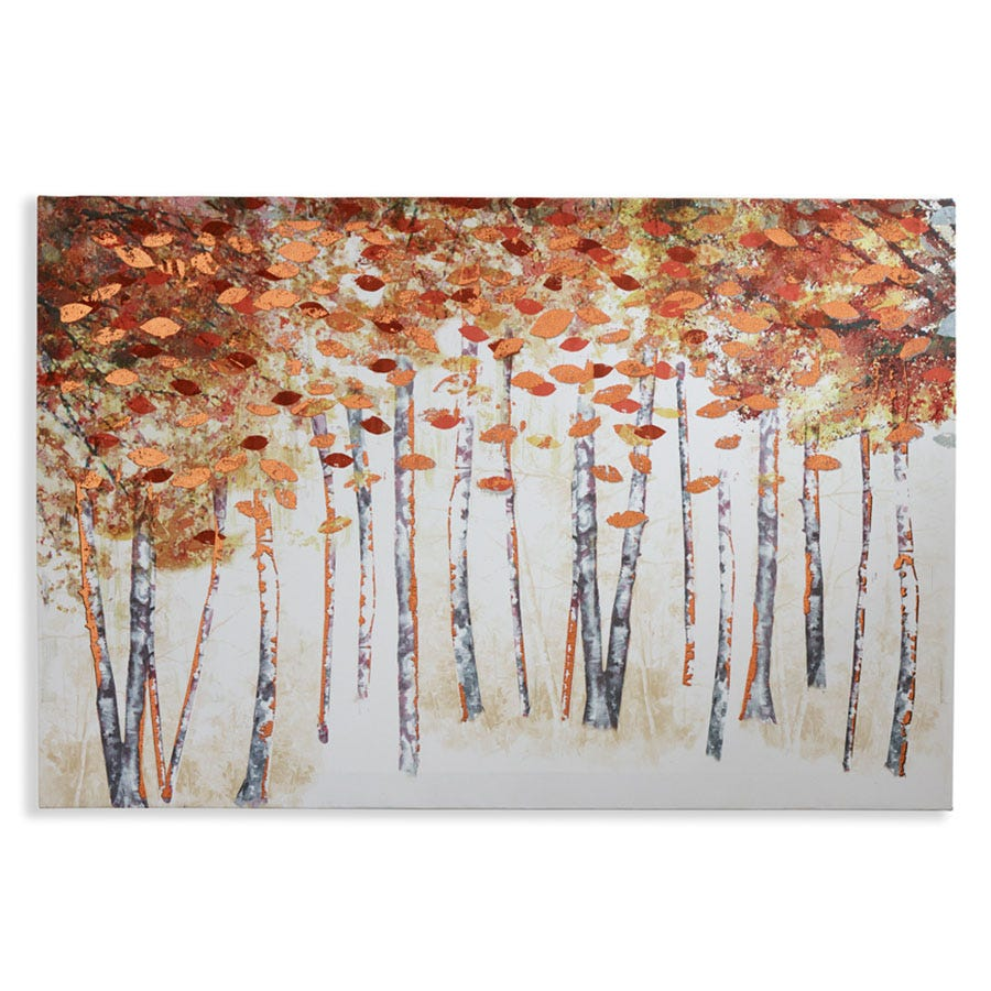 Compare cheap offers & prices of Arthouse Copper Birch Wall Canvas manufactured by Arthouse