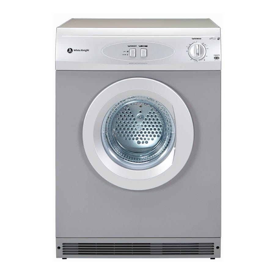 Compare prices for White Knight C44A7S 7kg Vented Tumble Dryer