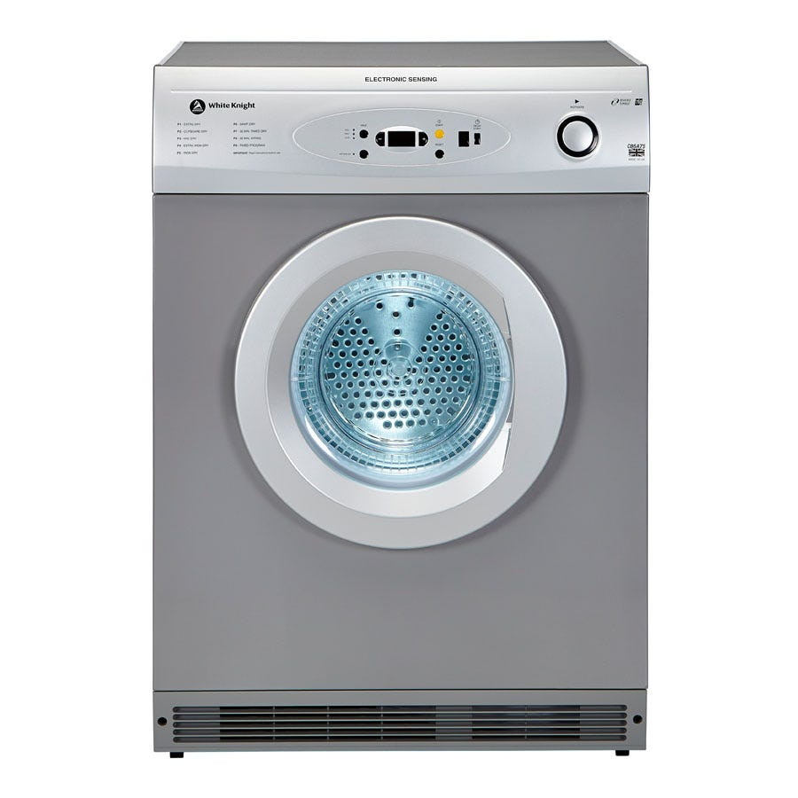 Compare prices for White Knight C86A7S 7kg Vented Tumble Dryer