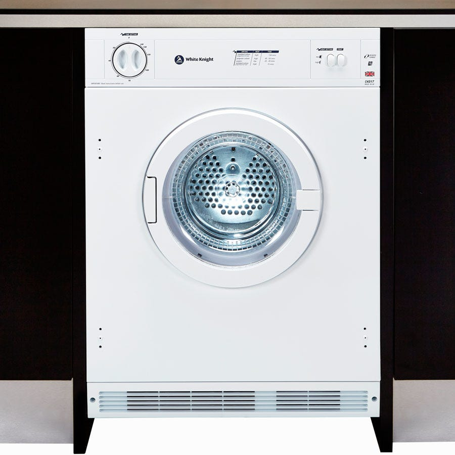 Compare prices for White Knight C4317WV 7kg Vented Tumble Dryer