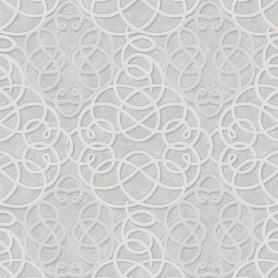 Compare prices for Graham and Brown Boutique Ribbon Dance Wallpaper - Silver