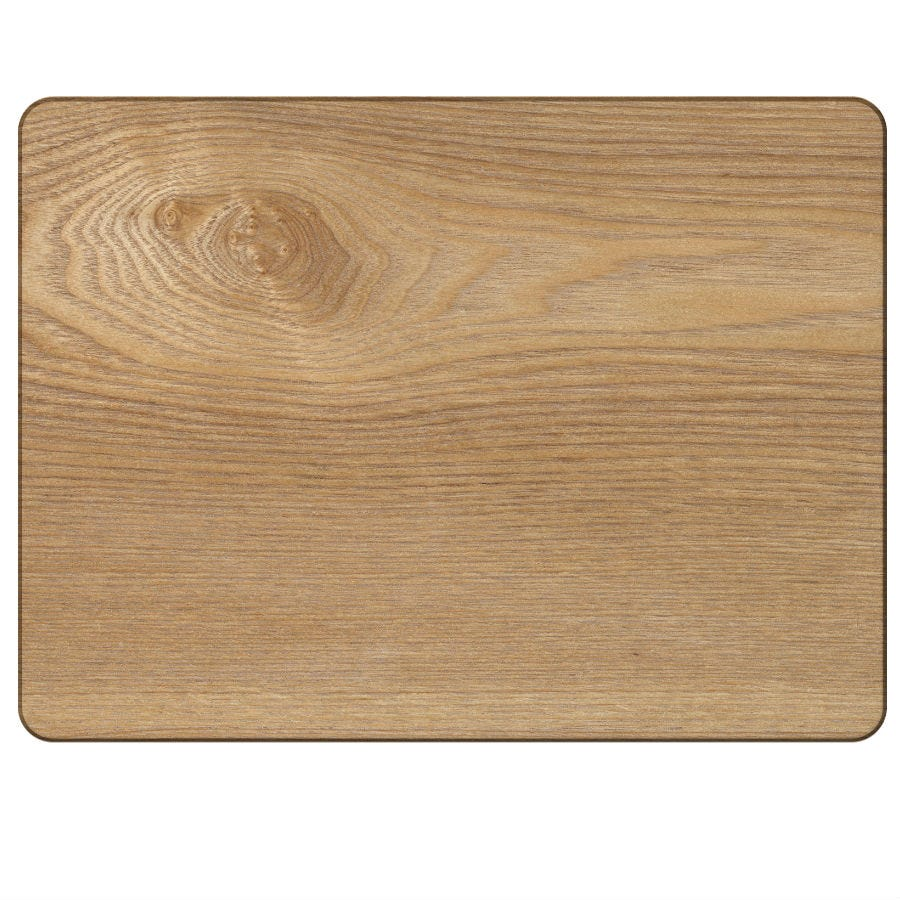 Compare prices for Creative Tops Oak Veneer Placemats - Set of 4