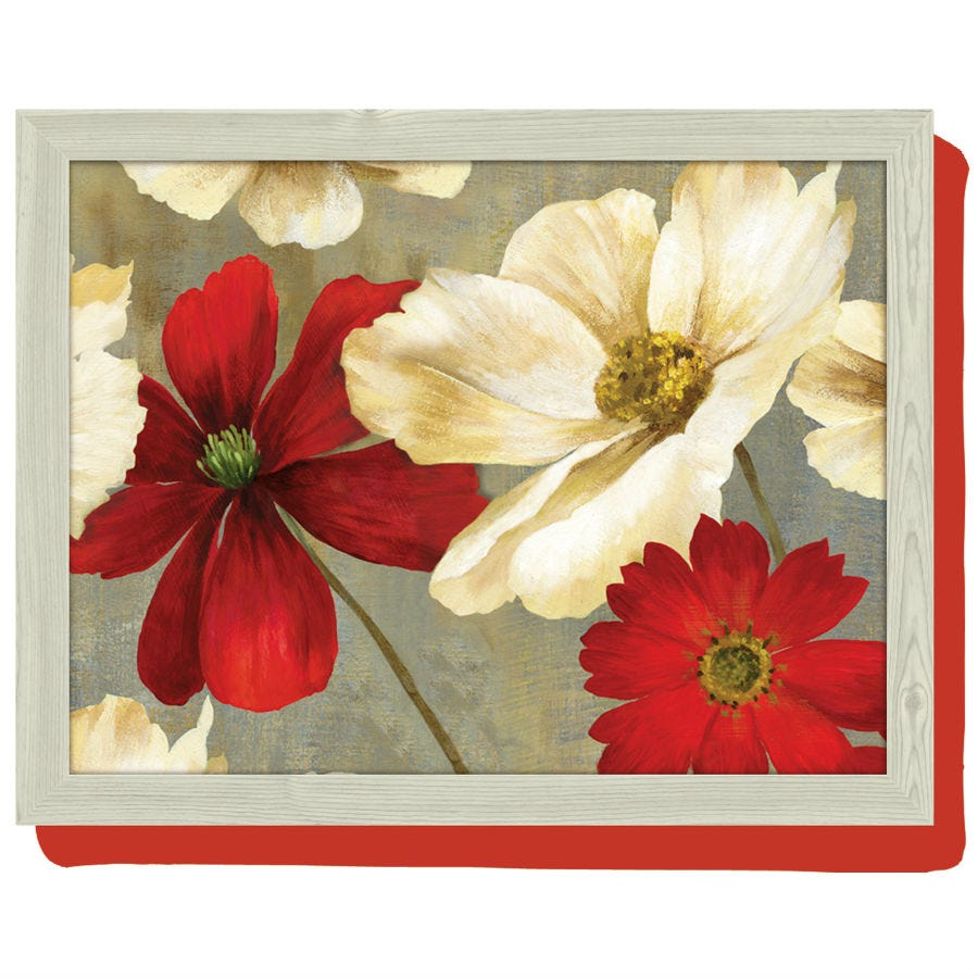 Compare prices for Creative Tops Flower Study Lap Tray