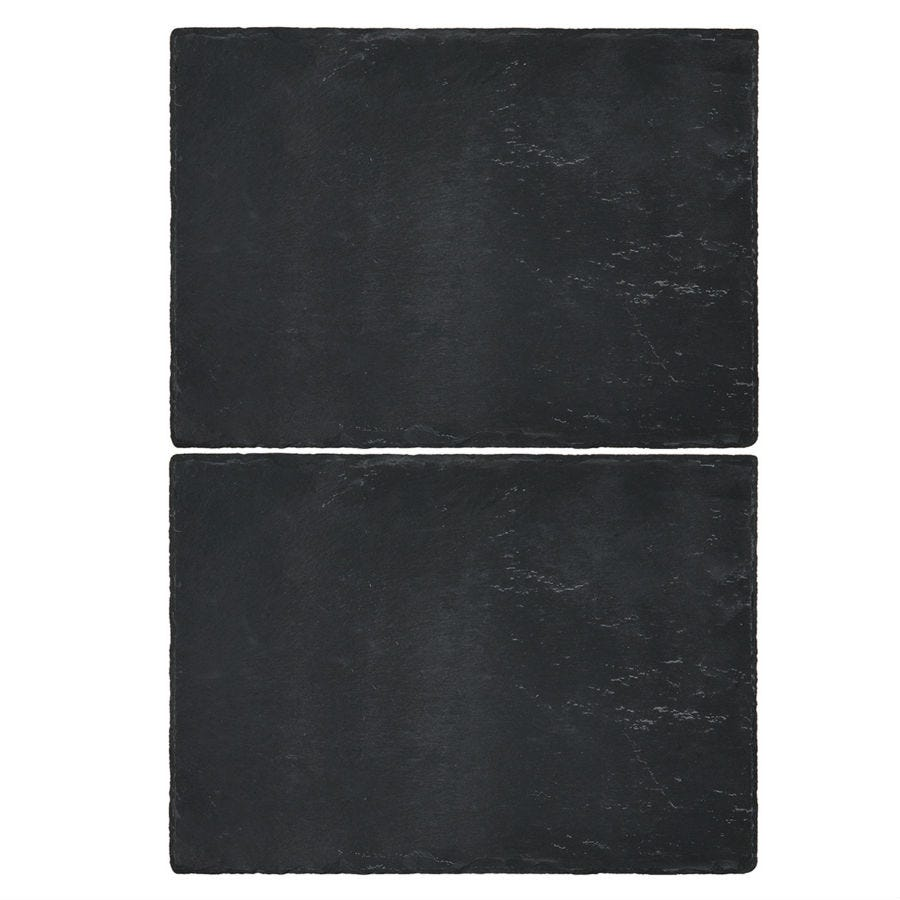 Compare prices for Creative Tops Natural Slate Placemats - Set of 2