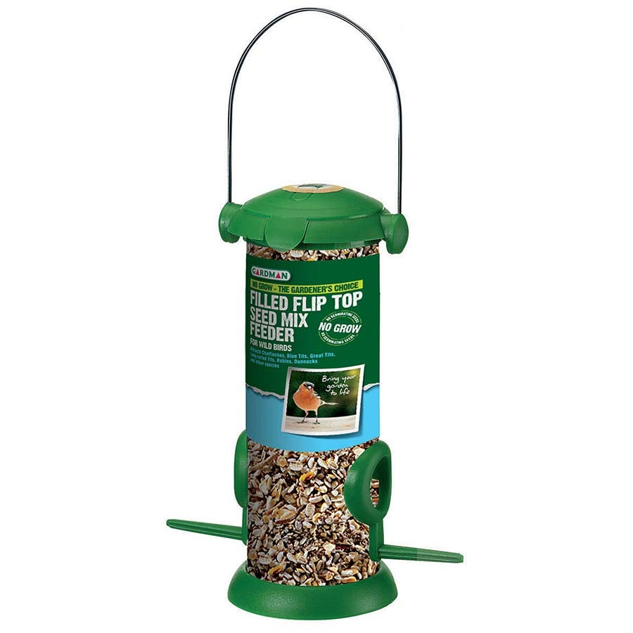 Compare prices for Gardman Pre-Filled Premium Seed Feeder - 200g