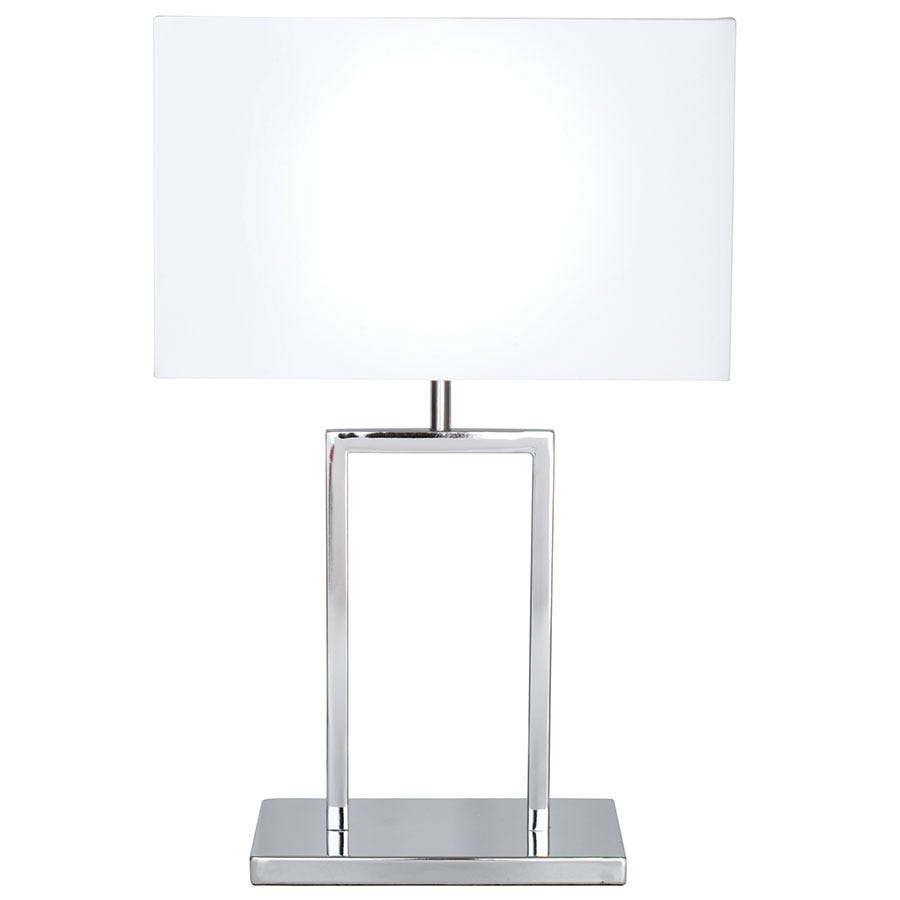 Compare prices for The Lighting and Interiors Group Ellis Table Lamp - Chrome