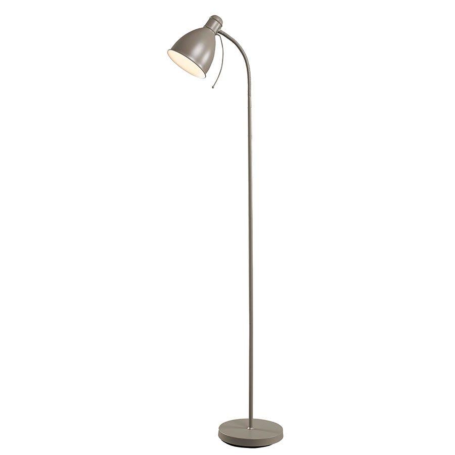 Village At Home Sven Floor Lamp - Grey