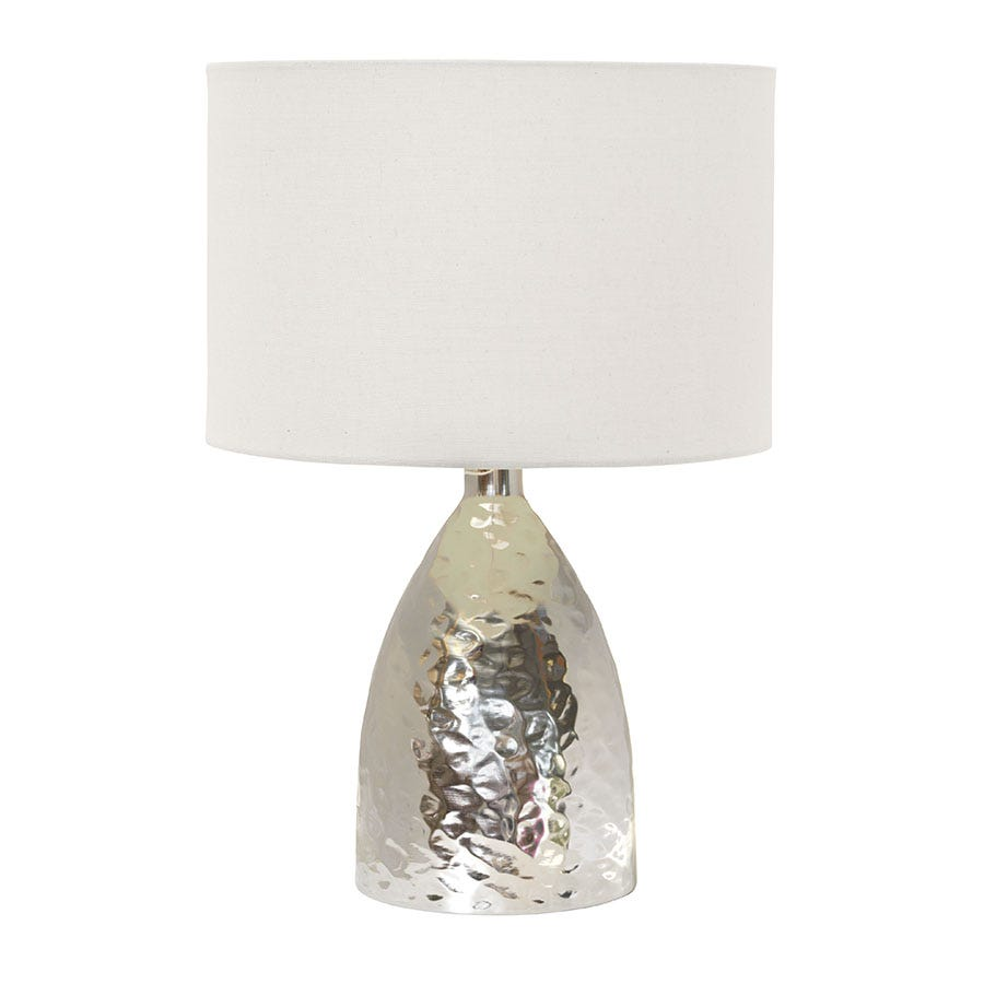 Village At Home Medina Touch Table Lamp - Chrome