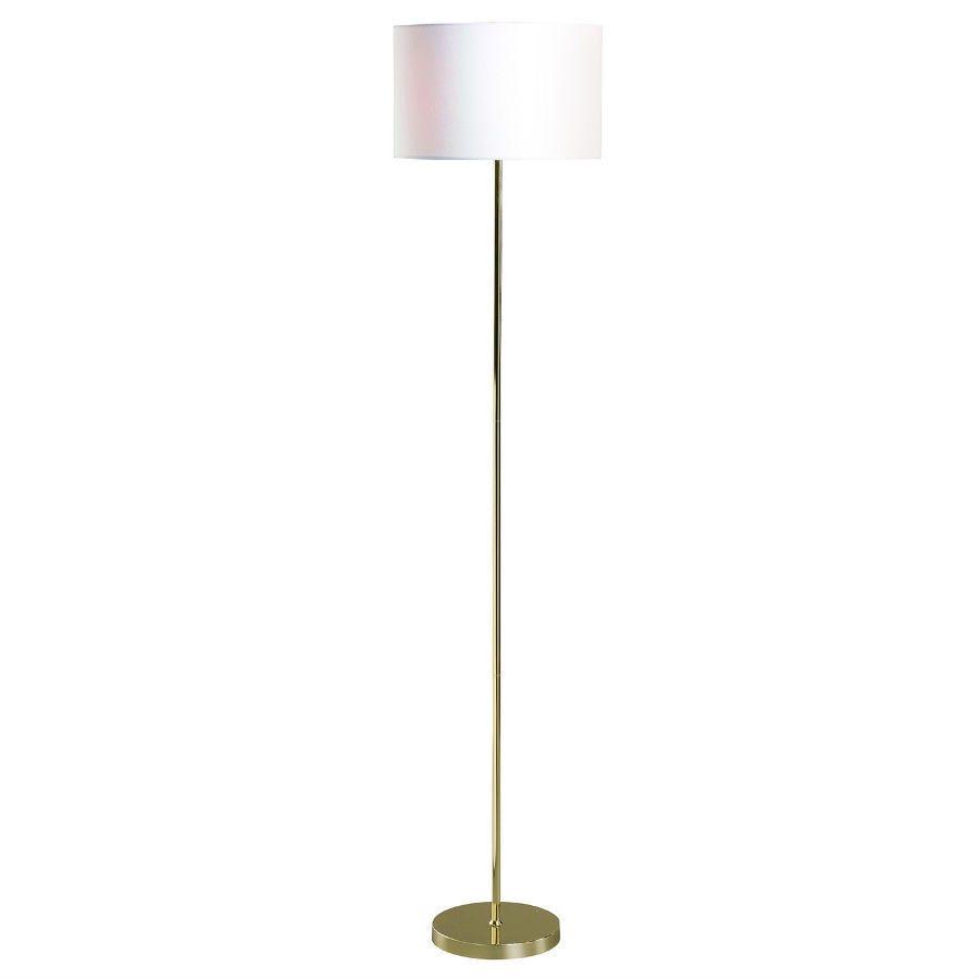 Village At Home Islington Floor Lamp - Gold