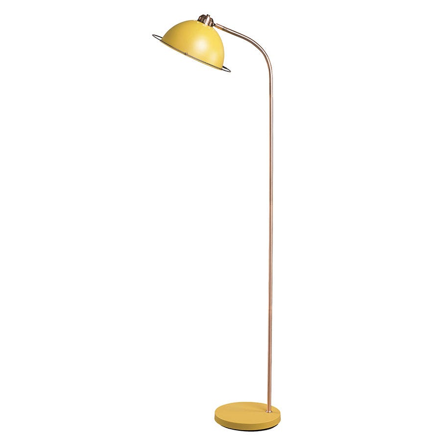 Compare prices for The Lighting and Interiors Group Bauhaus Floor Lamp - Ochre