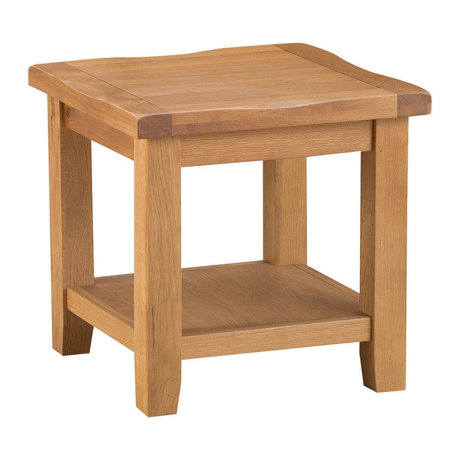 Stockbridge Oak Lamp Table