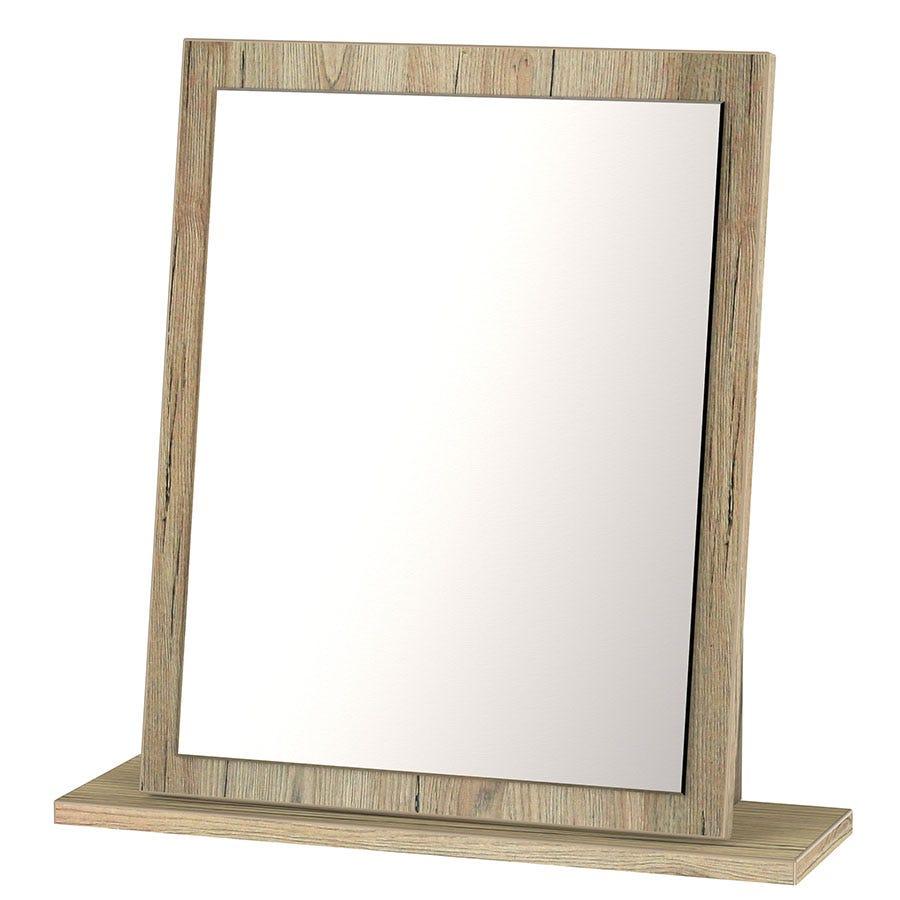 Wilcox Dressing Table Mirror - Oak Effect