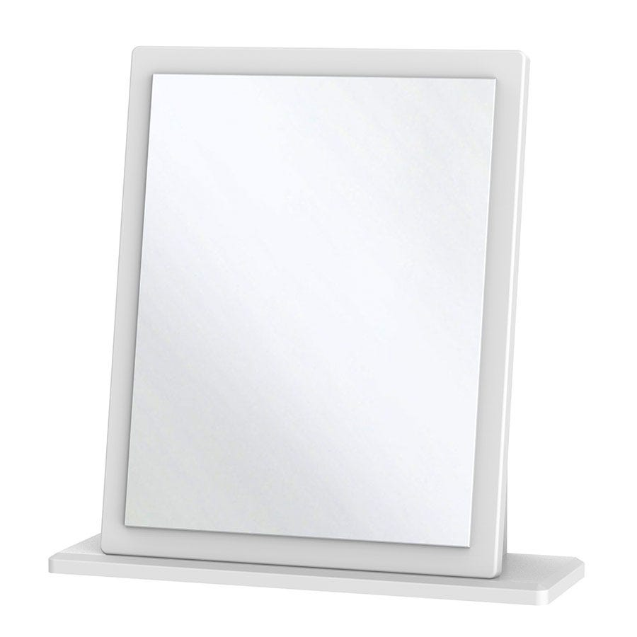 Tedesca Dressing Table Mirror - White