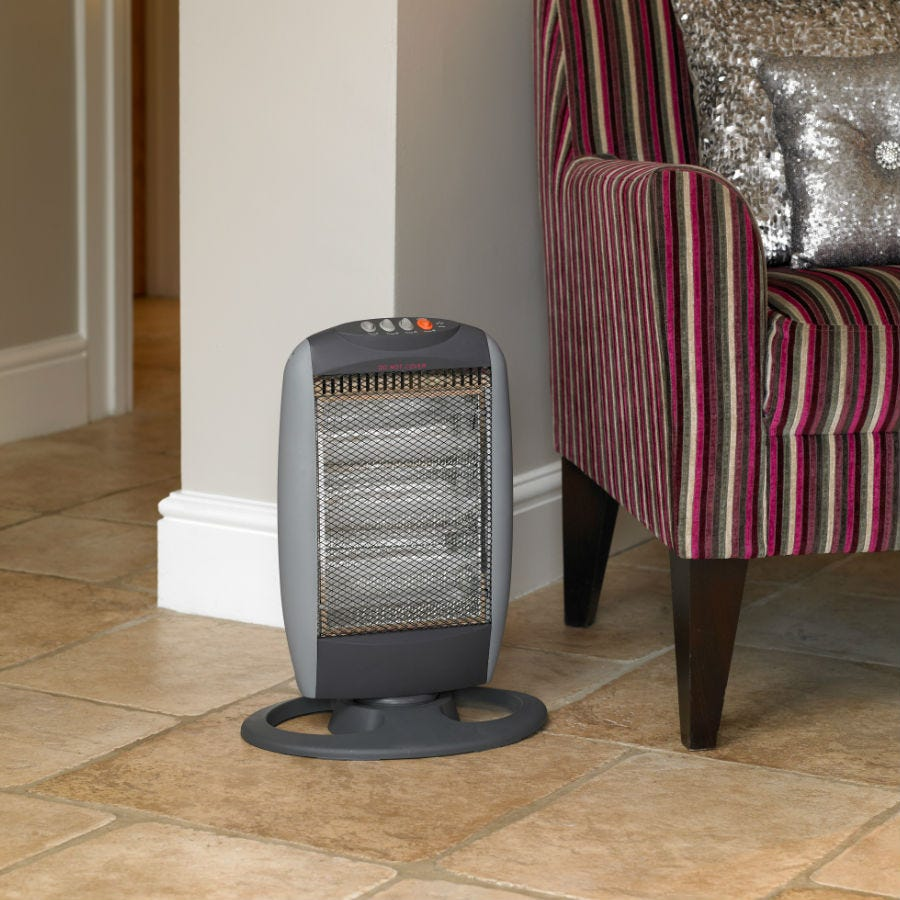 Limitless 1200W Small Halogen Heater