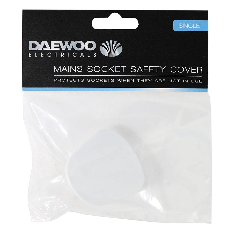 Compare retail prices of Daewoo Mains Socket Safety Cover to get the best deal online