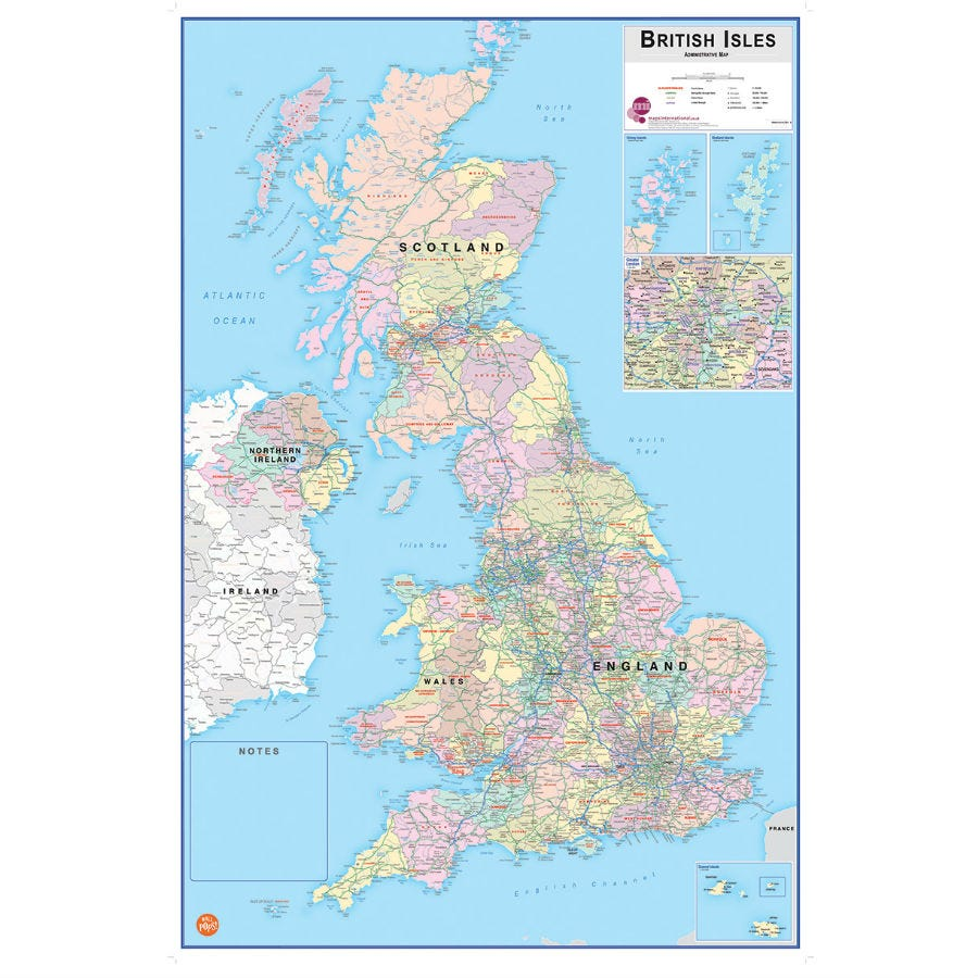 Compare prices for Fiscars Fine Decor Dry-Erase British Isles Map Wall Decal