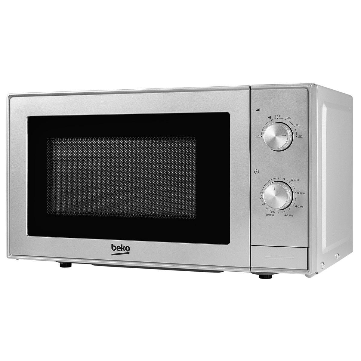 Beko MOC20100S 45cm Compact Microwave - Silver
