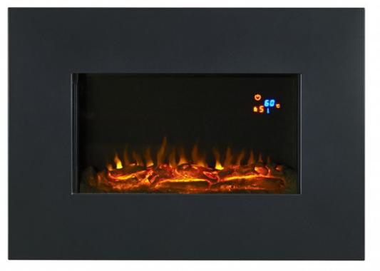 Focal Point Evoke Black Lcd Display Electric Wall Hung Fire