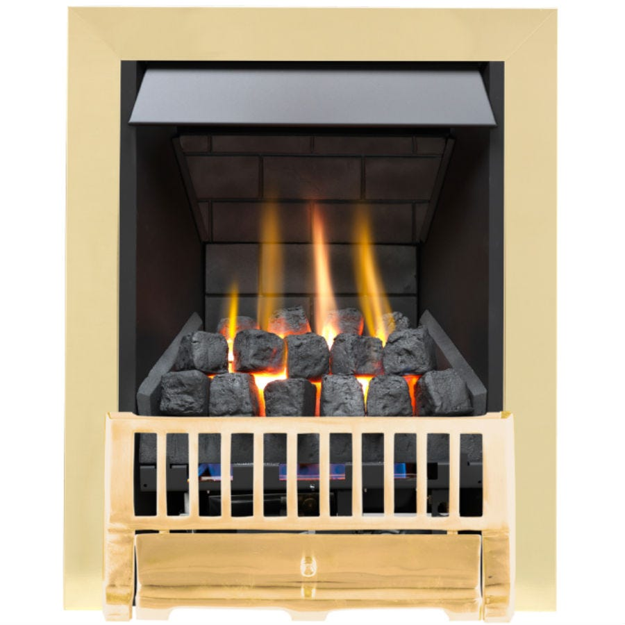 Compare prices for Focal Point Fires Farlam Slimline Radiant Gas Fire - Brass