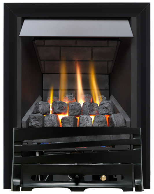 Focal Point Fires Mono Slimline Radiant Gas Fire - Black