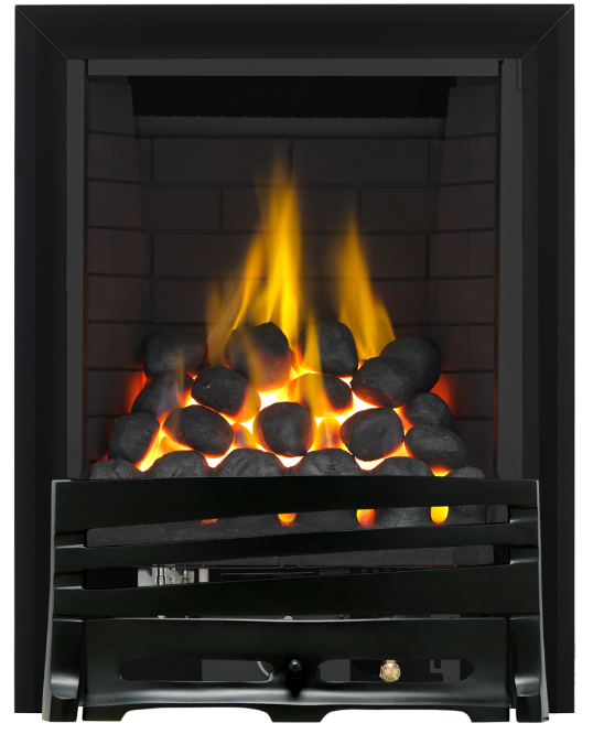 Focal Point Fires Mono Full Depth Radiant Gas Fire - Black